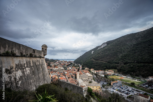 Foto op Plexiglas Liguria Finalborgo paese storico della liguria