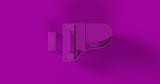 Purple Grand Piano 3d illustration - 199253385
