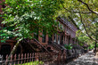Brownstone Homes in Brooklyn, New York
