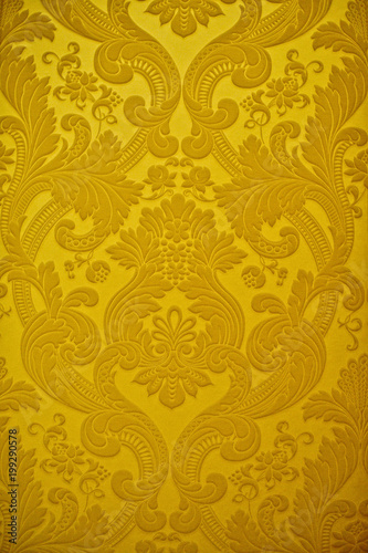 Fototapeta Vintage golden wallpaper.