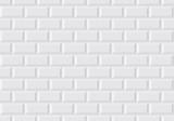 Carrelage mural blanc