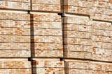 Timber stack timberyard