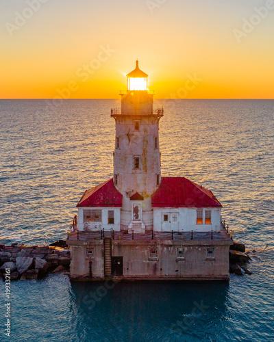 Poster Chicago Lighthouse Henge