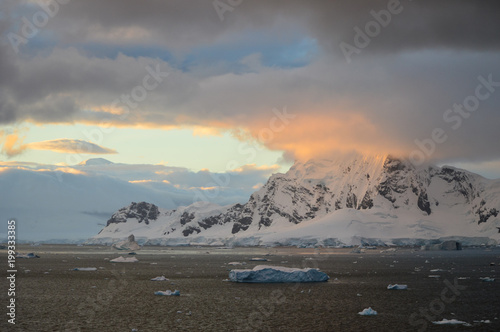 Plexiglas Antarctica Antarctica landscape