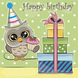 owl birthday - 199355184