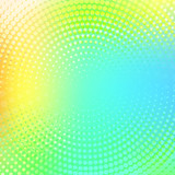 Abstract halftone dotted light multicolor color texture. Vector background. Modern backdrop for posters, sites, business cards, postcards, interior and cover design. - 199364736