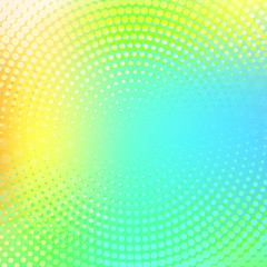 Abstract halftone dotted light multicolor color texture. Vector background. Modern backdrop for posters, sites, business cards, postcards, interior and cover design.