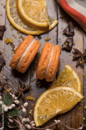 Fotobehang Macarons Macarons