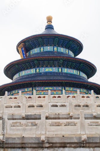 Foto op Plexiglas Peking The Temple of Heaven, Beijing China