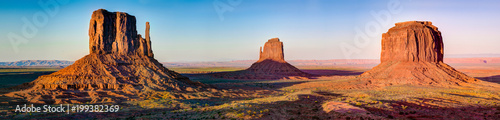 Foto op Plexiglas Panoramafoto s Monument Valley Panorama