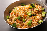 fried noodles and vegetable - 199395941