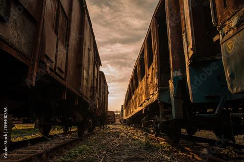 In de dag Spoorlijn La vecchia ferrovia