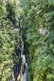 Les cascades et gorges de la Langouette