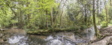 Herisson creek landscape at the cascades in the French Jura
