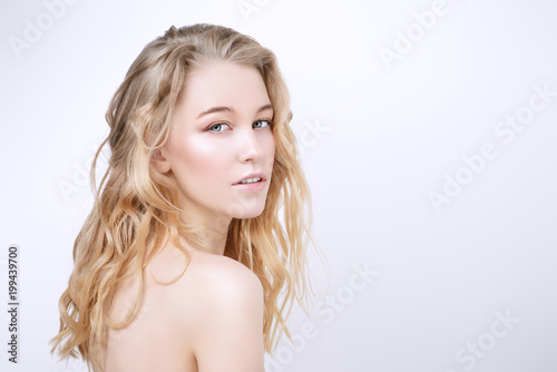 Leinwanddruck Bild female natural style
