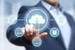 Cloud Computing Technology Internet Storage Network Concept