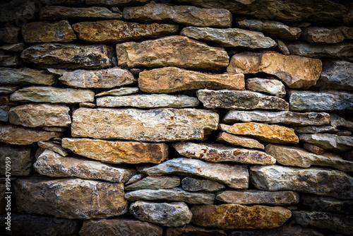 Foto op Plexiglas Baksteen muur Steinwand
