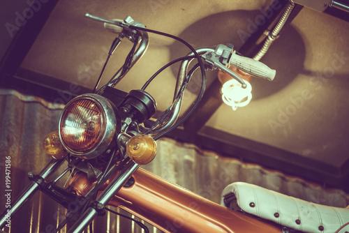 In de dag Fiets Vintage Motorcycle Handlebars