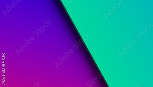 Abstract 3d rendering of a surface with gradient. Modern geometric background. Minimalistic design for poster, cover, branding, banner, placard. - 199492500