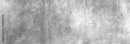 Leinwandbild Motiv Textur einer zerkratzten, alten Betonwand als Hintergrund