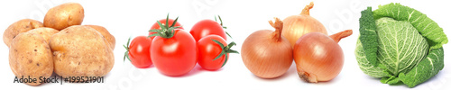 Foto op Plexiglas Verse groenten Fresh vegetables