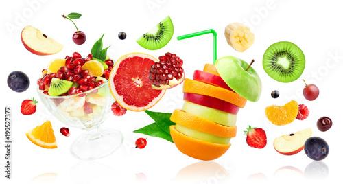 Fresh mixed fruits - 199527377
