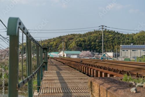 In de dag Spoorlijn 線路