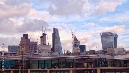 Foto op Canvas London London Skyline
