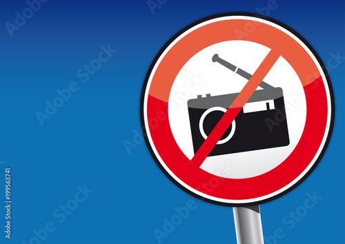 Radio hören verboten