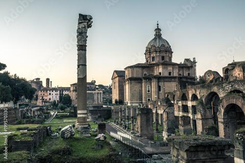 Roman forum - Rome,Italy