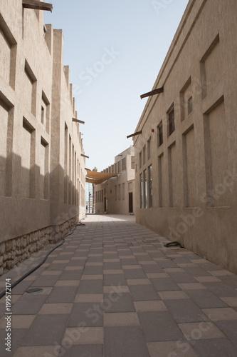 Foto op Plexiglas Smal steegje Dubai photography trip