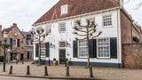 Old  historic tavern in the ancient city center of Amersfoort Netherlands