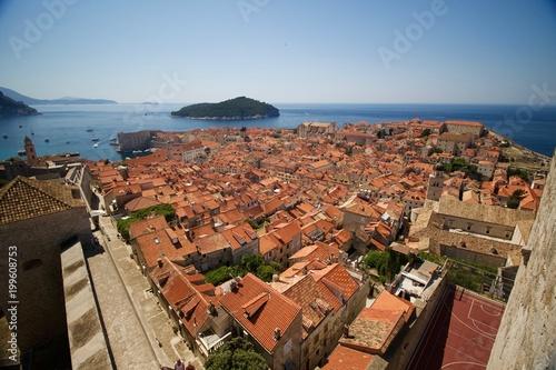 Rooftops in Dubrovnik - 199608753