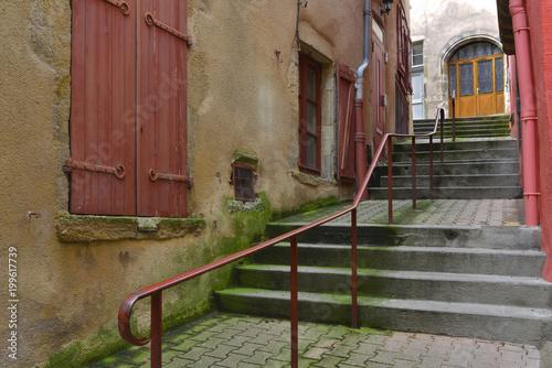Ruelle en escaliers de Thiers, Puy de Dôme