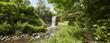Panoramic of Minnehaha Falls in Minneapolis Minnesota