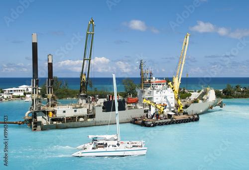Statek przemysłowy Bahamy