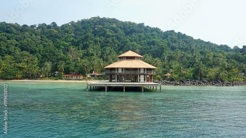 Fotobehang Khaki tropical coast of koh chang