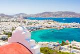 view on Mykonos island, Cyclades, Greece - 199658920