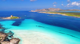 Luftaufnahme Stintino La Pelosa Strand Sardinien - 199665708