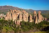 The rocks of Belogradchik (Bulgaria) - red color rock sculptures part of UNESCO World Heritage - 199689370