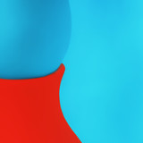Creative Abstract Blue And Red Background