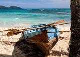 Fishing boats in the Caribbean sea