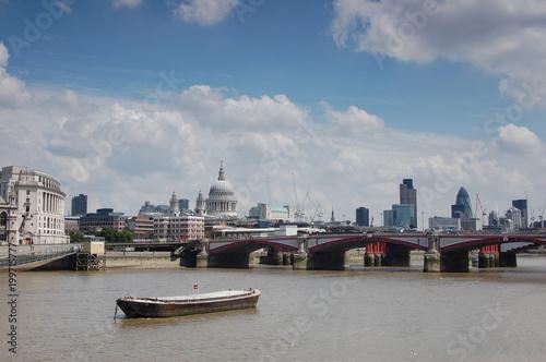 Foto op Canvas London London by the boat