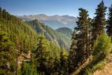 Landscape of Caucasus mountains in Tusheti region, Georgia - 199723550