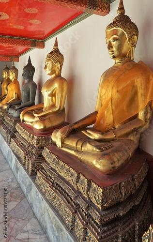 Fotobehang Boeddha Wat Pho tempel in Bangkok