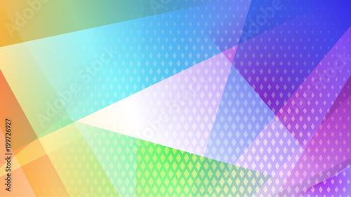 Streszczenie kolorowe tło linii, wielokątów i punktów rastrowych