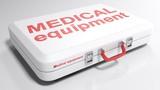 MEDICAL equipment white bag - 3D rendering - 199736966