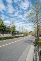 大阪 桃山台付近道路