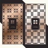 Luxury cards. Vector menu concept. Premium packaging design with logo. - 199769161