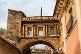 Ancient stone arch in Valencia